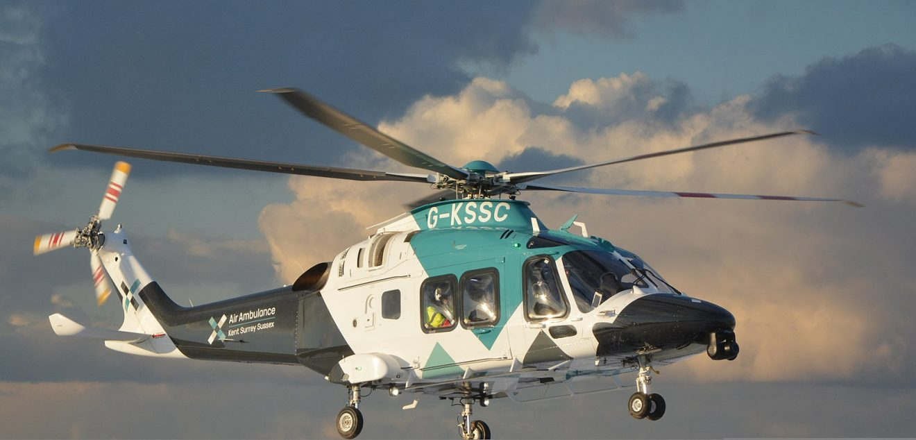 1600px Air Ambulance Kent Surrey Sussex Helicopter AW169