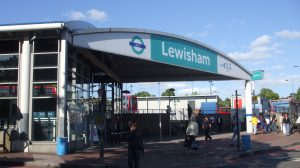 Lewisham DLR stn entrance