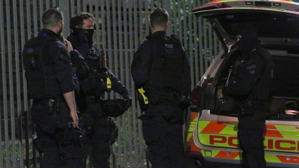 armed police storm tottenham property late on sunday evening 9